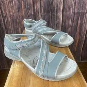 Dr. Scholl's Comfort Sandals Gray Size 6